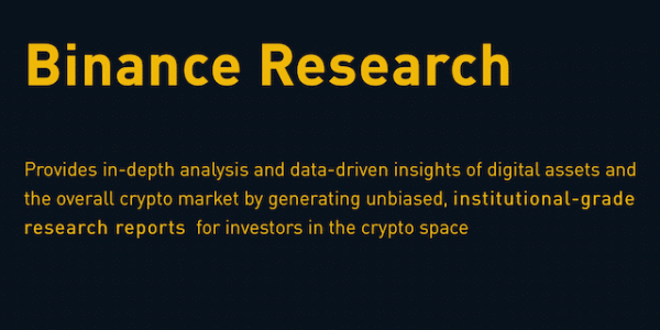 Binance Research Logo @BinanceResearch