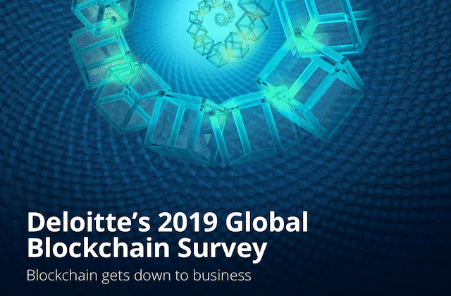 Deloitts´s 2019 Global Blockchain Survey @ Deloitte.com