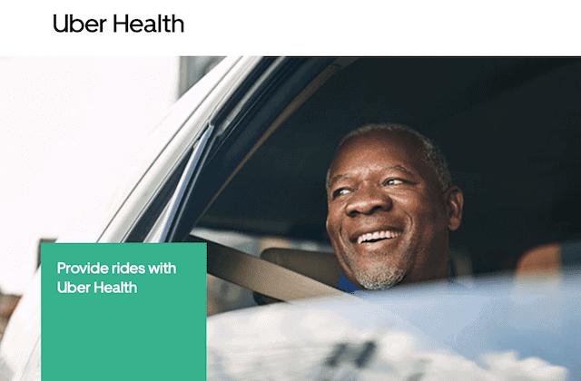 Uber Health Logo @Uberhealth.com