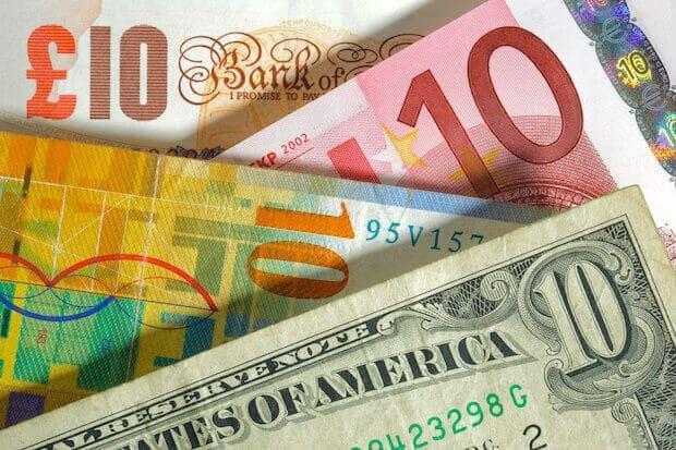 Fiat Geld - Euro, Dollar und Pfund