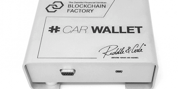 RIDDLE&CODE Car Wallet
