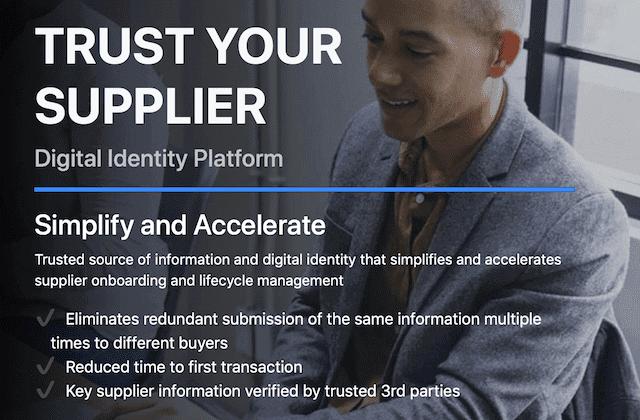 Trust Your Supplier - die neue Plattform für das Supply Chain Management @IBM.com