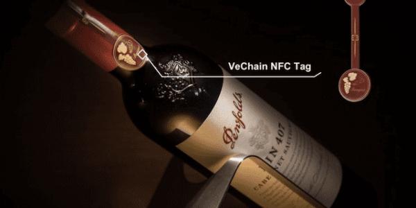 WTP stattet Penfolds mit NFC-Chips aus @VeChain.com