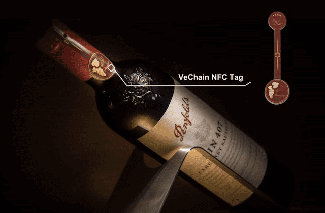 WTP stattet Penfolds mit NFC-Chips aus @VeChain.com