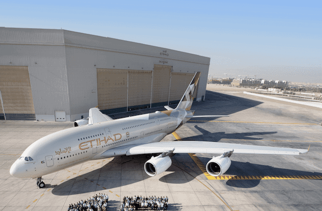 Etihad Airways Flugzeug @Etihad.com