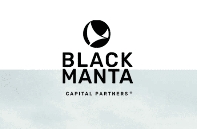 Black Manta Capital Partners Logo @Blackmanta.Capital