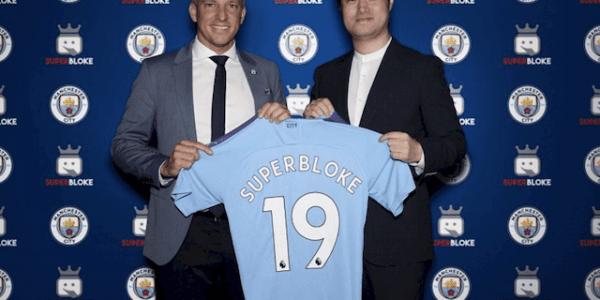 Manchester City FC kooperiert mit Superbloke @Mancity.com