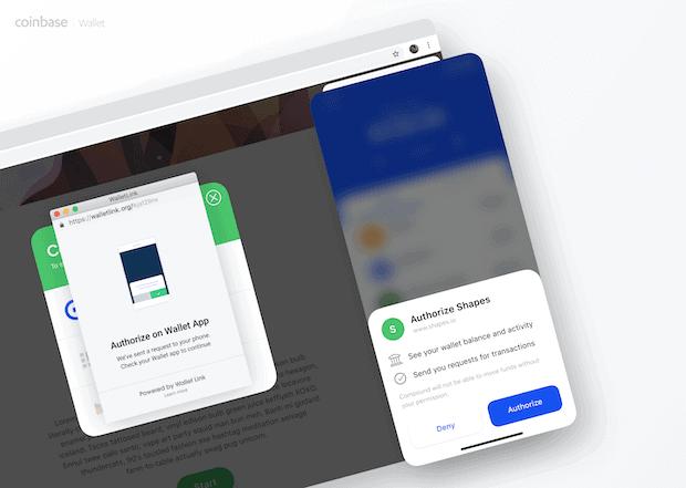 WalletLink App Abbildung