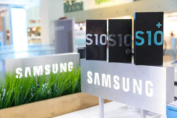 Samsung S10 Modelle