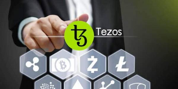 Tezos Blockchain Logo