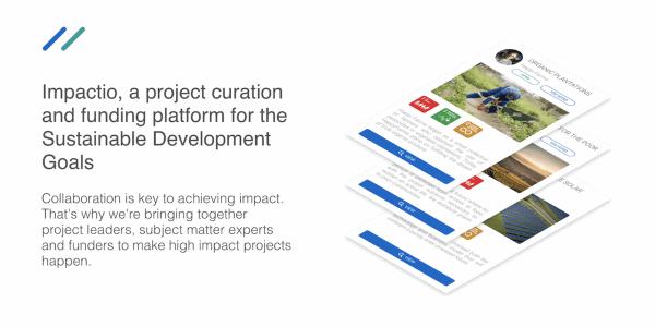mpactio - die Plattform zur Förderung sozialer Projekte