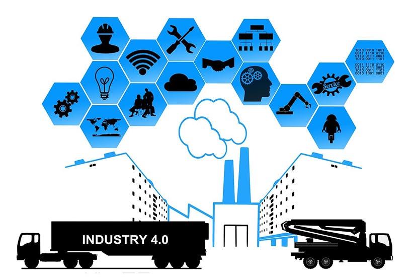 Industrie 4.0 Illustration