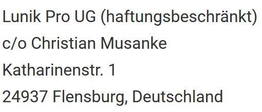 Lunik Pro UG - Flensburg - Deutschland