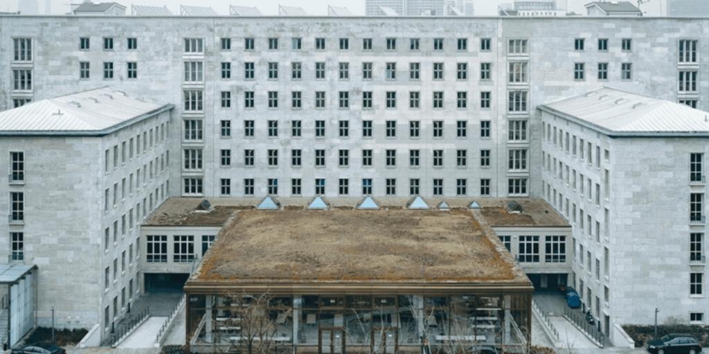 Bundesministerium der Finanzen Hauptgebäude in Berlin