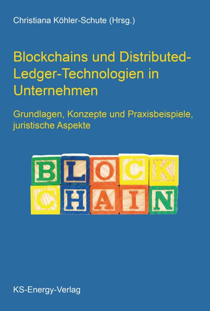 Buchcover: Blockchain und Distributed-Ledger-Technologien in Unternehmen