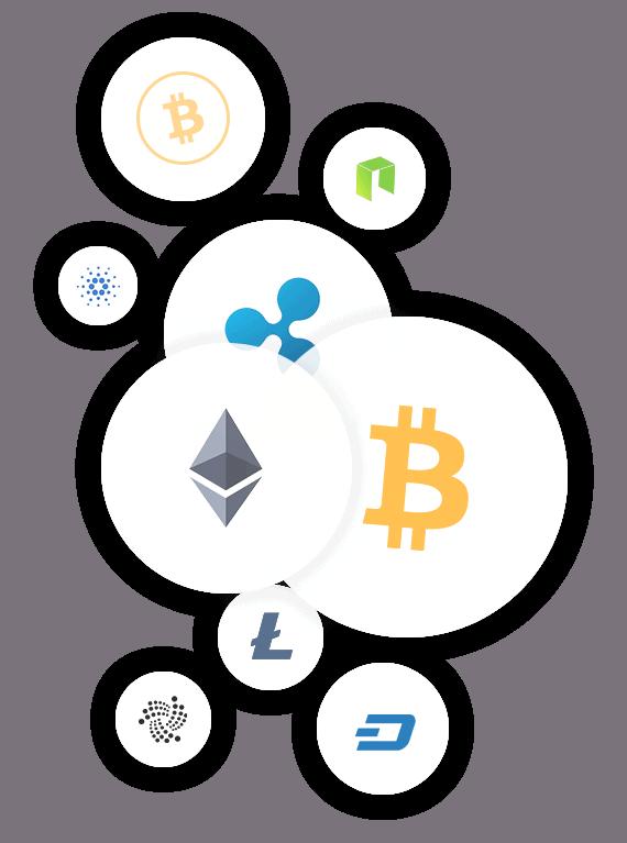 Handeln von Kryptowährungen