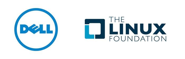 Dell & Linux Foudnation Logos