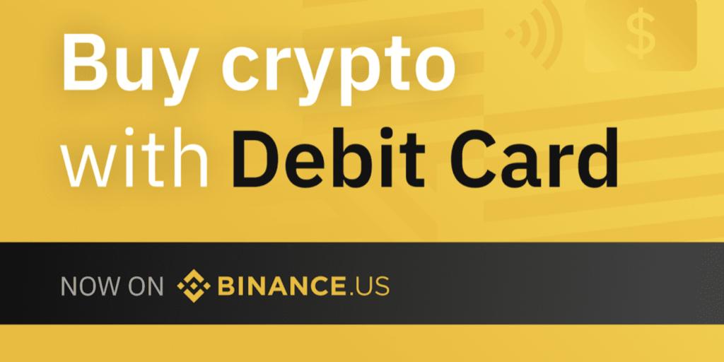 Binance.US führt Debitkartenzahlungen ein