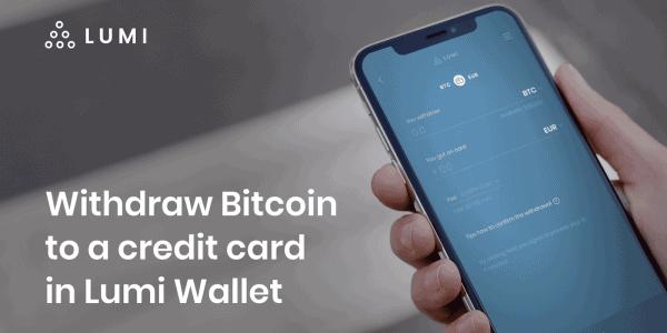 Lumi Wallet ermöglicht Krypto-Transaktionen an Kreditkarten