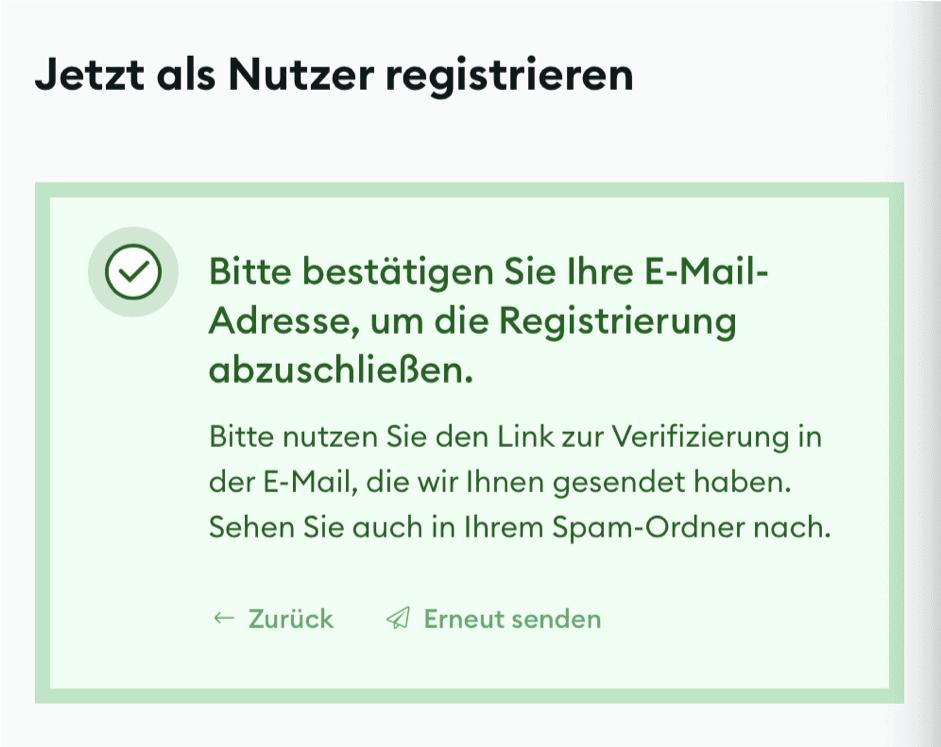 BSDEX Registrierung