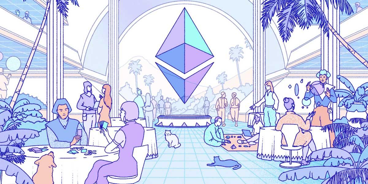 Ethereum 2.0 Darstellung