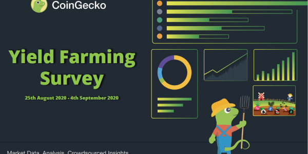 CoinGecko Yield Farming Survey 2020