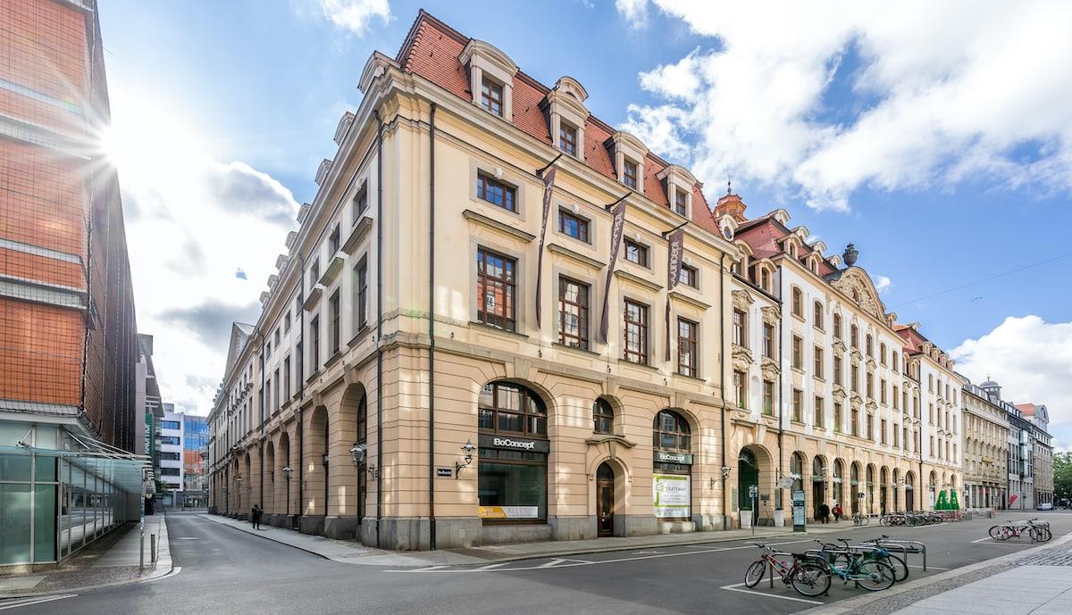 Bloxxter Leipzig städtisches Kaufhaus