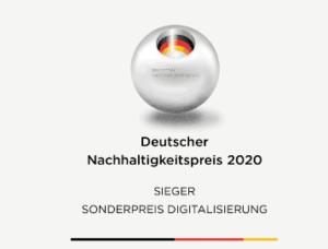 Deutscher Nachhaltigkeitspreis retraced Sonderpreis 2020