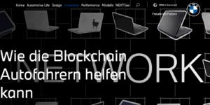 Top 50 Blockchain Unternehmen BMW