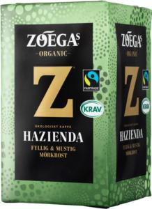 ZOÉGAS BIO Kaffee HAZIENDA
