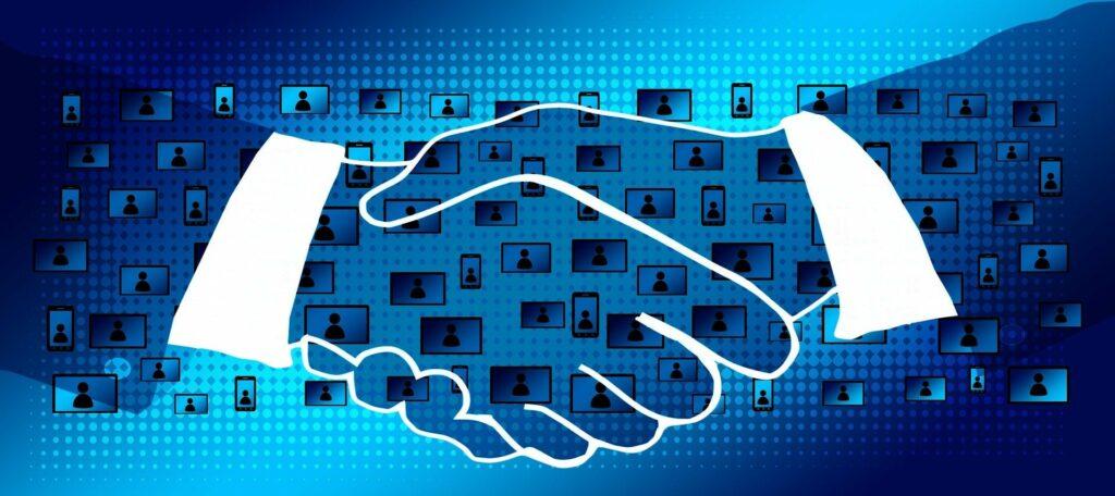 Blockchain im Unternehmen einbinden (Bild von Gerd Altmann auf Pixabay)