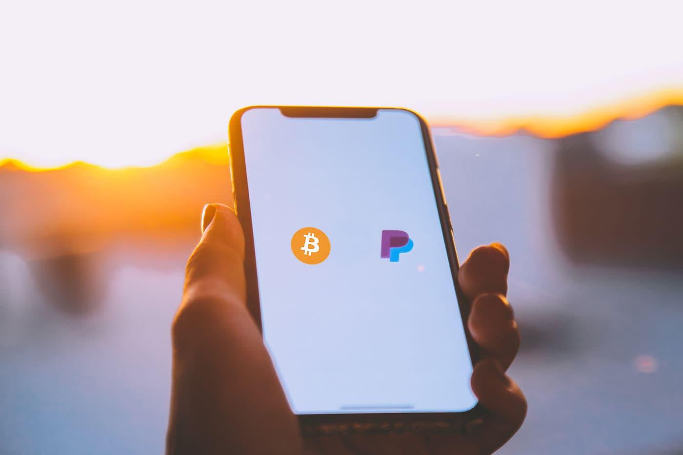 Bitcoin über PayPal am Handy kaufen