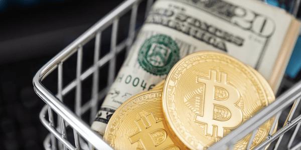 Bitcoin Einkaufswagen