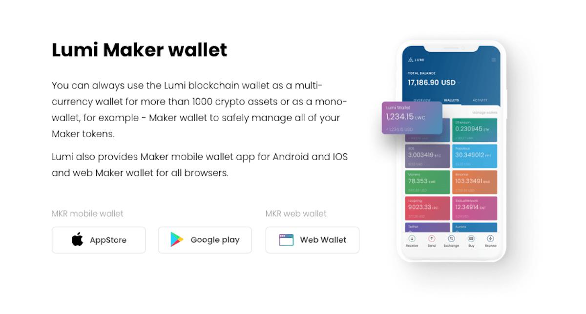 Lumi Wallet Maker