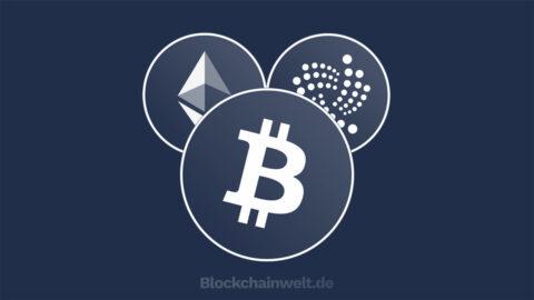 Kryptowährungen kaufen - Titelbild