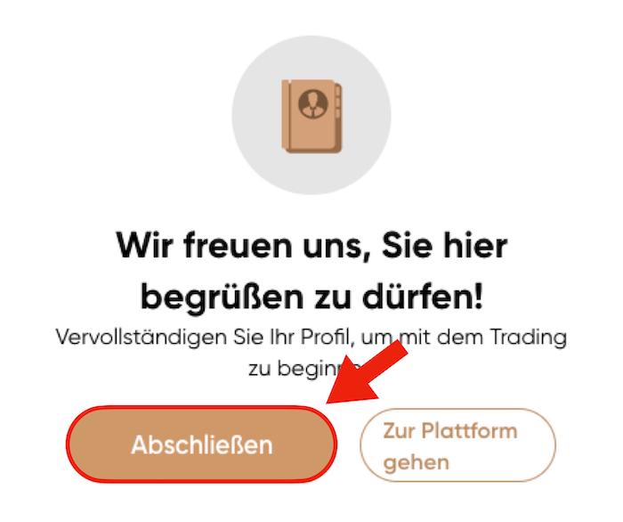 Capital.com Account verifizieren