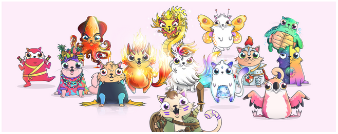 NFTs CryptoKitties