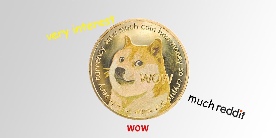 Interesse an Dogecoin und Co auf Reddit extrem groß