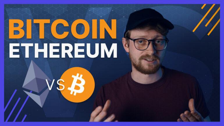 Ethereum vs. Bitcoin Thumbnail
