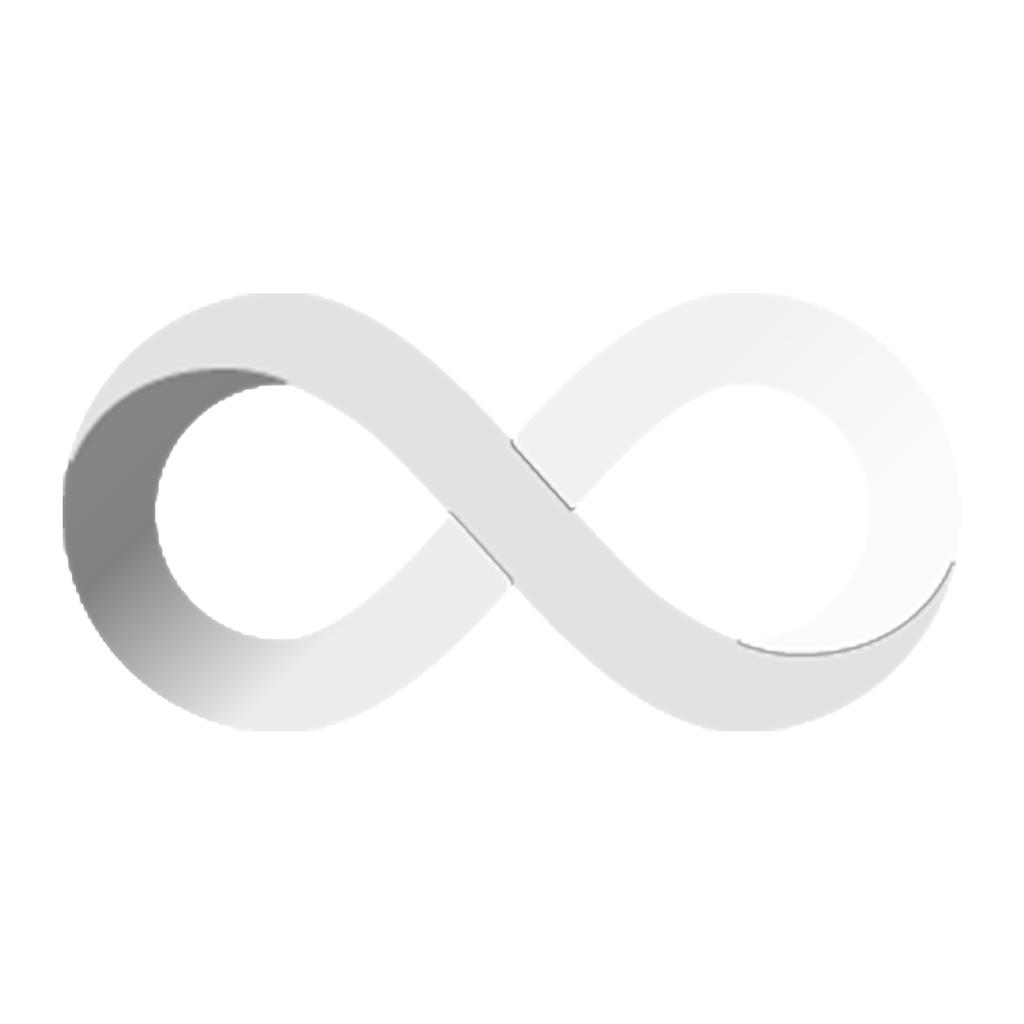 Internet Computer Coin Weiß