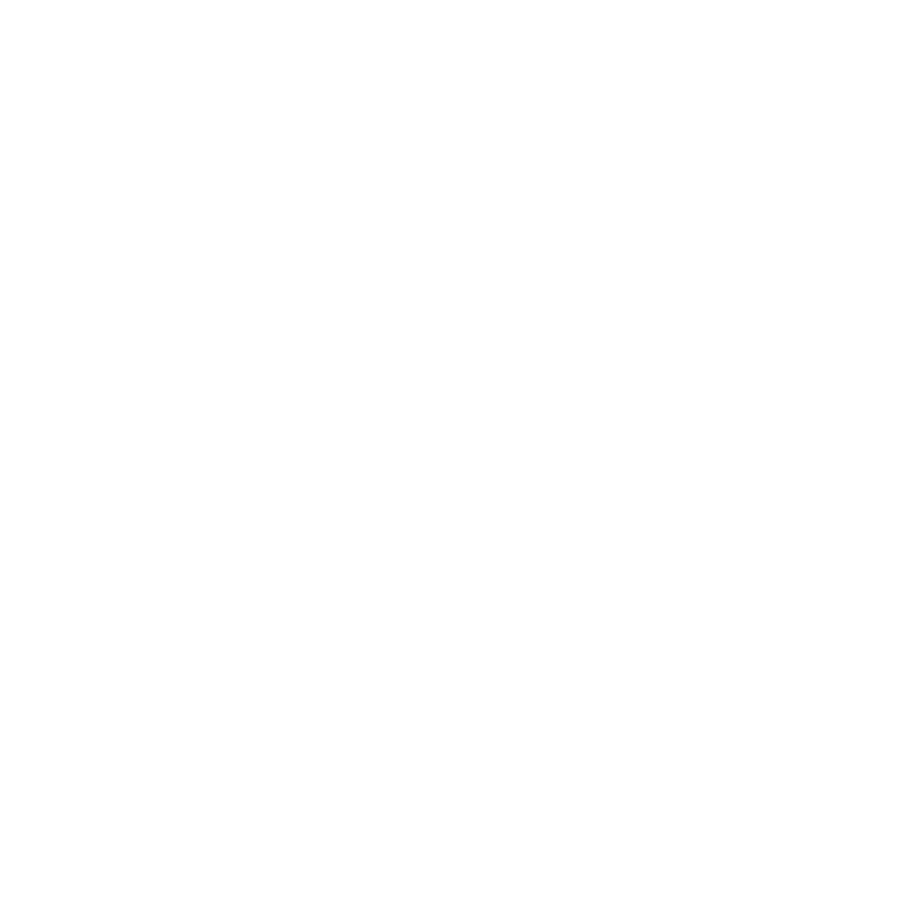 EOS Coin Logo weiß