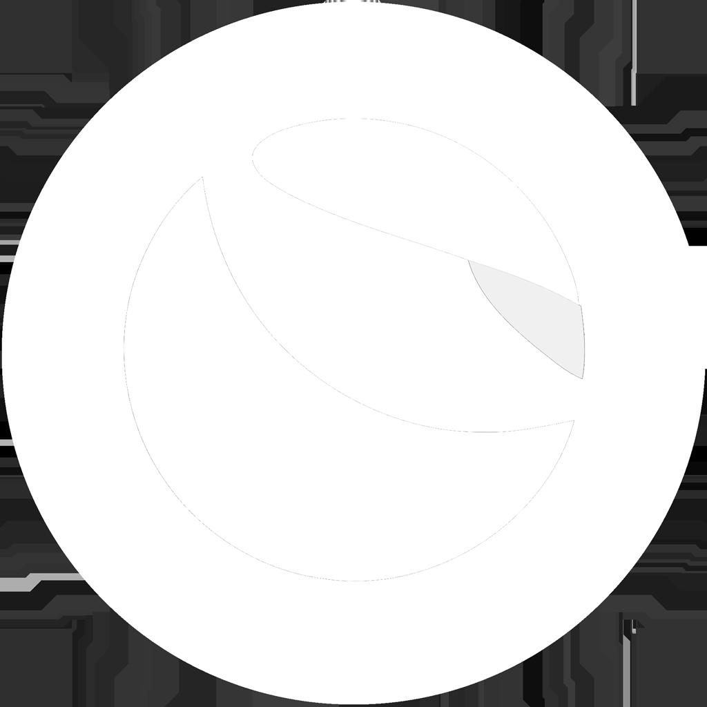 Terra (LUNA) Logo weiß