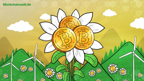 Grüner Bitcoin