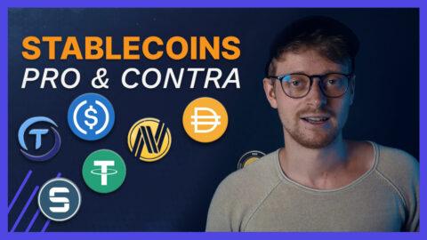 Stablecoins Pro und Contra