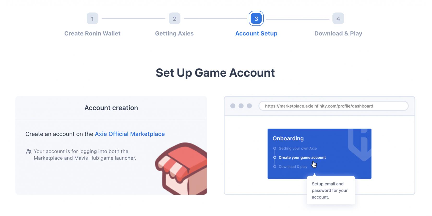 Game Account erstellen