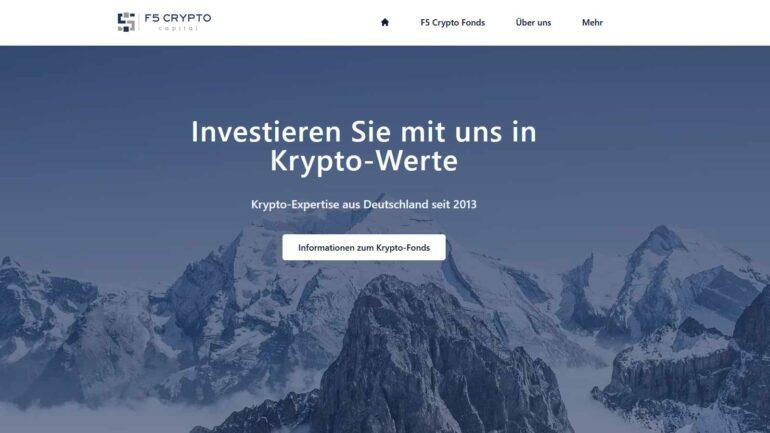 F5 Crypto Capital Website Screenshot