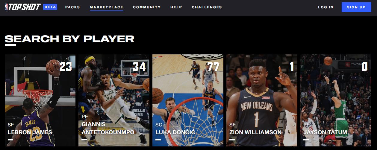 NBA Top Shots